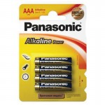 Батарейка Panasonic Alkaline Power LR03APB/4BP LR03 BL4