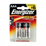 Батарейка Energizer MAX+Power Seal LR03 BL6