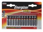 Батарейка Energizer MAX+Power Seal LR03 BL12