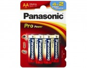 Батарейка Panasonic Pro Power LR6PPG/6BP 4+2F LR6 4+2шт BL6