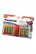 Батарейка Panasonic Pro Power LR6  10+6шт Spider-Man BL16