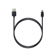 Кабель  ROBITON P7 black 8pin AppleLightning SyncCharg 1м черный PH1