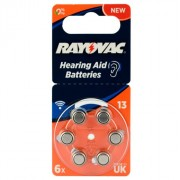 Батарейка RAYOVAC ACOUSTIC SPECIAL 13 BL6