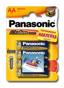 Батарейка Panasonic Alkaline Power LR6APB/4BPS LR6 + наклейка BL4