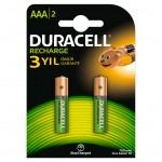 Аккумулятор DURACELL HR03 AAA 900mAh уже заряжены  BL2