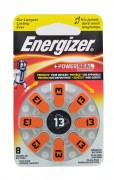 Батарейка Energizer Zinc Air 13 + POWER SEAL BL8