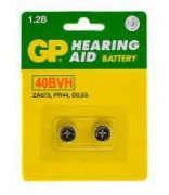 Аккумулятор GP Hearing Aid 40BVH-CR2 BL2