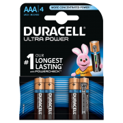 Батарейка DURACELL ULTRA POWER LR03 BL4