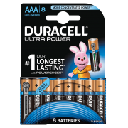 Батарейка DURACELL ULTRA POWER LR03 BL8