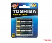 Батарейка TOSHIBA HIGH POWER LR6GCP BP-4 LR6 BL4