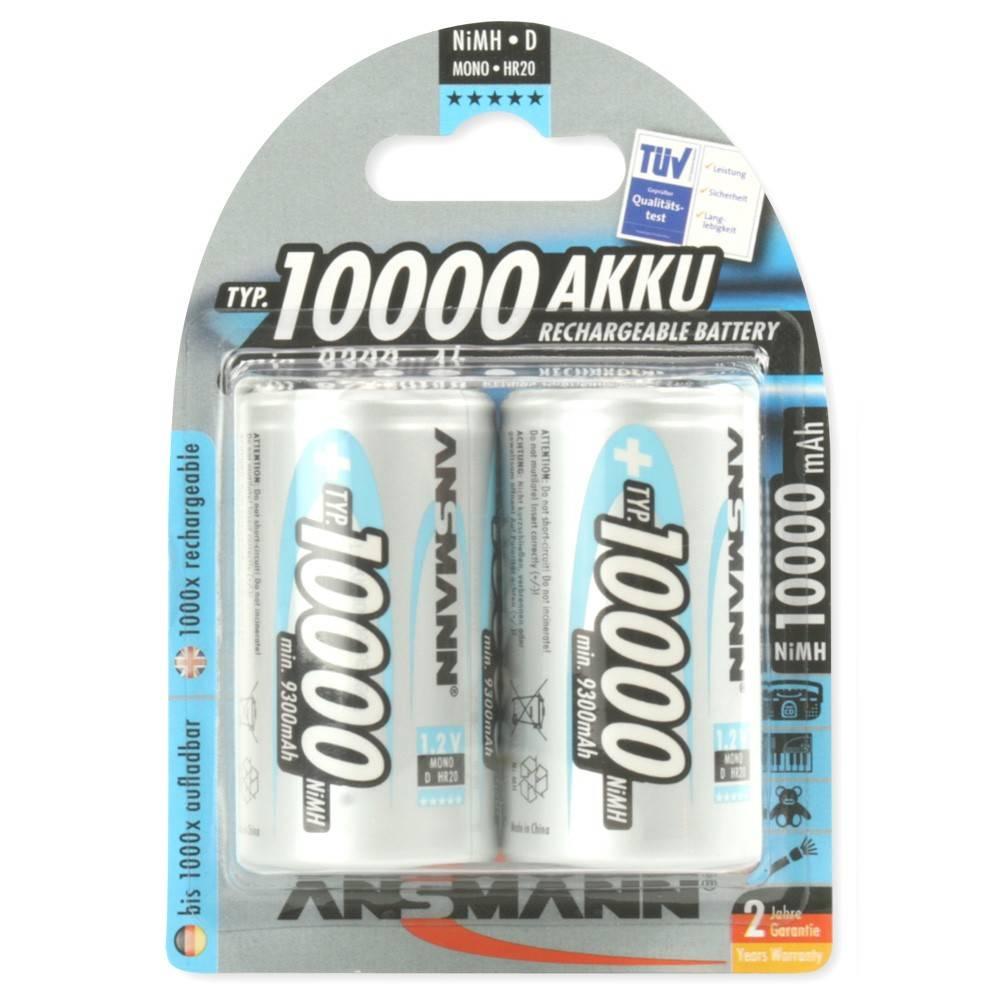 Аккумулятор ANSMANN 10000 D  5030642 BL2