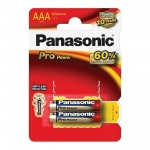 Батарейка Panasonic Pro Power LR03PPG/2BP LR03 BL2