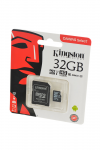 Карта памяти KINGSTON CANVAS Select microSD 32GB (Class 10) UHS-I с адаптером BL1