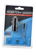 Блок питания ROBITON App04 Car Charging Kit 2.4A iPhone/iPad (12-24V) BL1