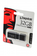 USB Flash KINGSTON USB 3.1/3.0/2.0  32GB  DataTraveler 100 G3 черный BL1