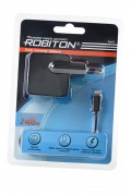 Блок питания ROBITON App05 Charging Kit 2.4A iPhone/iPad (100-240V) BL1