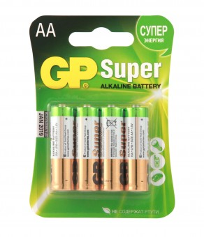 Батарейка GP Super 15A-CR4 LR6 BL4