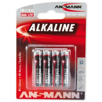Батарейка ANSMANN RED 5015553 LR03 BL4