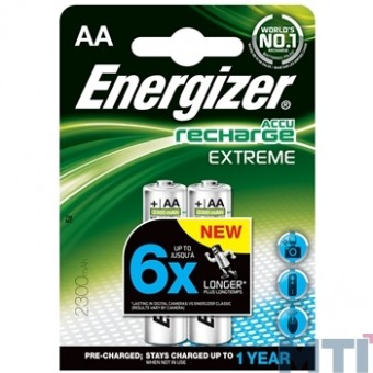 Аккумулятор Energizer Recharge Extreme AA 2300mAh BL2
