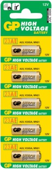 Батарейка GP High Voltage 23AE-C5 23A BL5