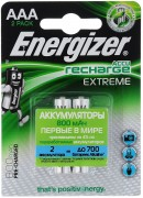 Аккумулятор Energizer Recharge Extreme AAA 800mAh BL2