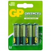 Батарейка GP Greencell GP15G-2CR4 R6 BL4