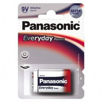 Батарейка Panasonic Everyday Power 6LR61REE/1BR 6LR61 BL1