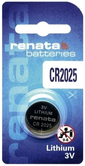 Батарейка RENATA CR2025 BL1 - купить с доставкой