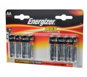 Батарейка Energizer MAX+Power Seal LR6 BL8