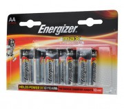 Батарейка Energizer MAX+Power Seal LR6 BL12