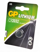 Батарейка GP Lithium GPCR2032-7CR1 Japan CR2032 BL1