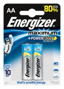 Батарейка Energizer Maximum+Power Boost LR6 BL2