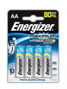 Батарейка Energizer Maximum+Power Boost LR6 BL4