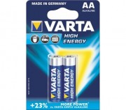 Батарейка VARTA HIGH ENERGY 4906 LR6  BL2