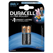 Батарейка DURACELL ULTRA POWER LR03 BL2