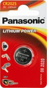 Panasonic Lithium Power CR-2025EL/1B CR2025 BL1