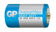 Батарейка GP PowerPlus HEAVY DUTY 13C/R20 SR2. в упак 20 шт