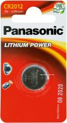 Panasonic Lithium Power CR-2012EL/1B CR2012 BL1
