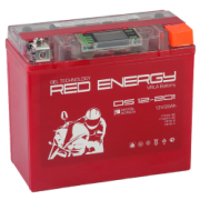 Мото аккумулятор Red Energy (RE) DS 12-201 YTX20L-BS