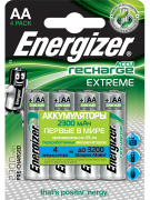 Аккумулятор Energizer Recharge Extreme AA 2300mAh BL4